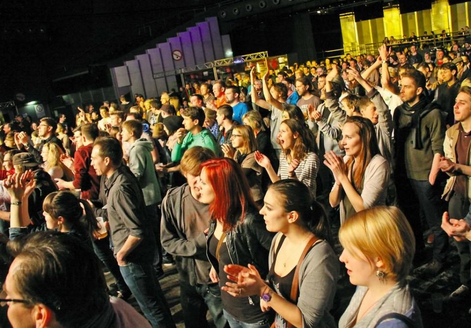 Brojna publika pri semifinalu Austrian Band Contesta u bečkom Gasometru